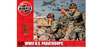 WWII U.S. Paratroops 1:72
